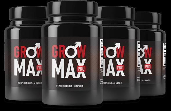 Grow Max Plus Ingredients Label