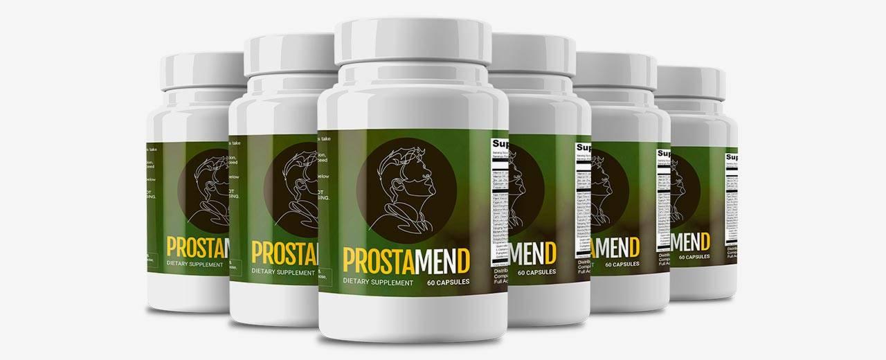 Prostamend Ingredients Label