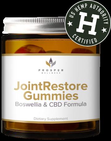 joint restore gummies by prosper