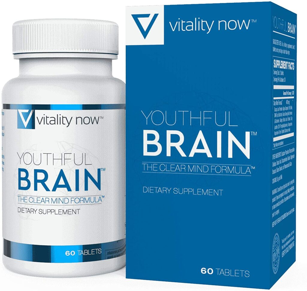 Youthful Brain By Vitality Now