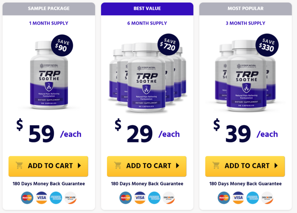 Buy TRP Soothe